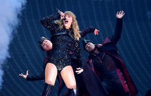 Taylor Swift joined on stage by Niall Horan for debut Wembley gig