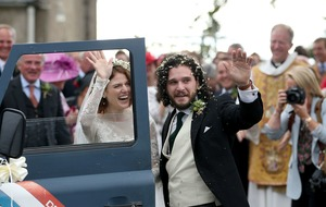 In Pictures: Game Of Thrones star Kit Harington weds co-star Rose Leslie