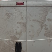 This guy's England van art is worthy of a World Cup winners' medal