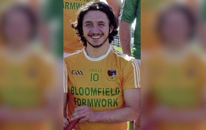 Co Down hurler Pearce Branagan (23) dies suddenly from suspected heart attack
