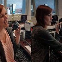 Singing receptionist goes utterly viral with end of term performance
