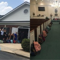 A teacher requested school backpacks instead of flowers at her funeral
