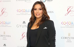 Eva Longoria shares photo of newborn son
