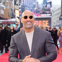 The Rock celebrates after Rampage becomes his highest-grossing film in China