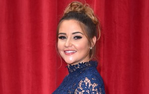 Jacqueline Jossa shares sweet picture of her daughter holding new baby