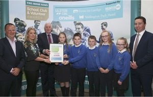 Our Lady's Tullysaran land top honours in Irish News top Primary school awards