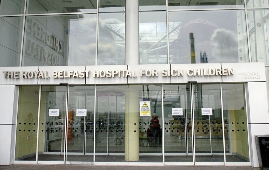 59c955d682 The surgery was carried out at The Royal Belfast Hospital for Sick Children