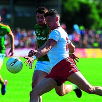 Richie Donnelly making a good case to be Tyrone's number 14