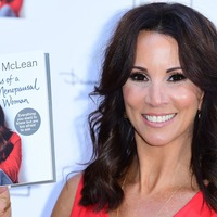 Andrea McLean looks glamorous as she attends launch of new book