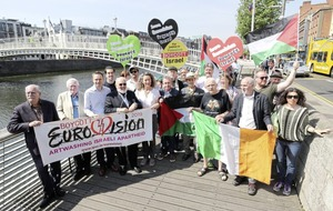 Campaign launched to boycott next year's Eurovision Song Contest in Israel