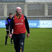 Losing to Kildare not in the thoughts of Antrim hurling joint manager Dominic McKinley