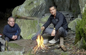 TV review: Bear Grylls pushes actor Warwick Davis to the limit in wildest corners of Lake District