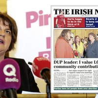 Arlene Foster criticised for no DUP apology to LGBT community