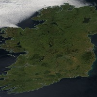 People are loving this stunning image of a cloudless Ireland taken from space