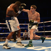 Michael Conlan takes step up in his stride in homecoming masterclass