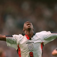 Ian Wright's reaction to England's penalty win is every Three Lions fan