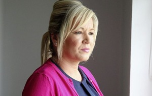 Michelle O'Neill claims British government more interested in internal disputes than border
