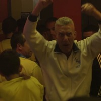 This England fan was the only person celebrating in a bar full of Colombians