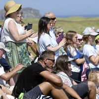 In Pictures: Ballyliffin welcomes golfers and celebrities for Irish Open Pro-Am