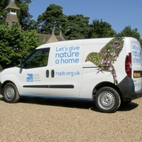 Devastating loss for RSPB as community team van is destroyed as busy summer starts