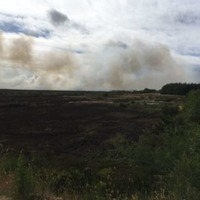 'Significant' gorse fire rages in Co Antrim