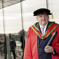 Honorary degree recipient McCormack urges UU students: 'Endeavour to make a difference'