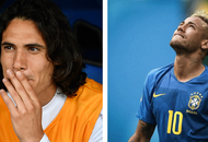 Neymar and Edinson Cavani the most searched for players on the internet today