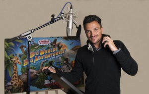 Peter Andre 'excited' about race car Ace's debut in new Thomas & Friends movie