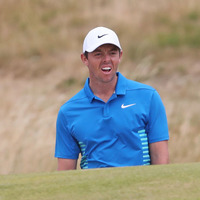 Rory McIlroy leads Irish pack but long way off the Open pace