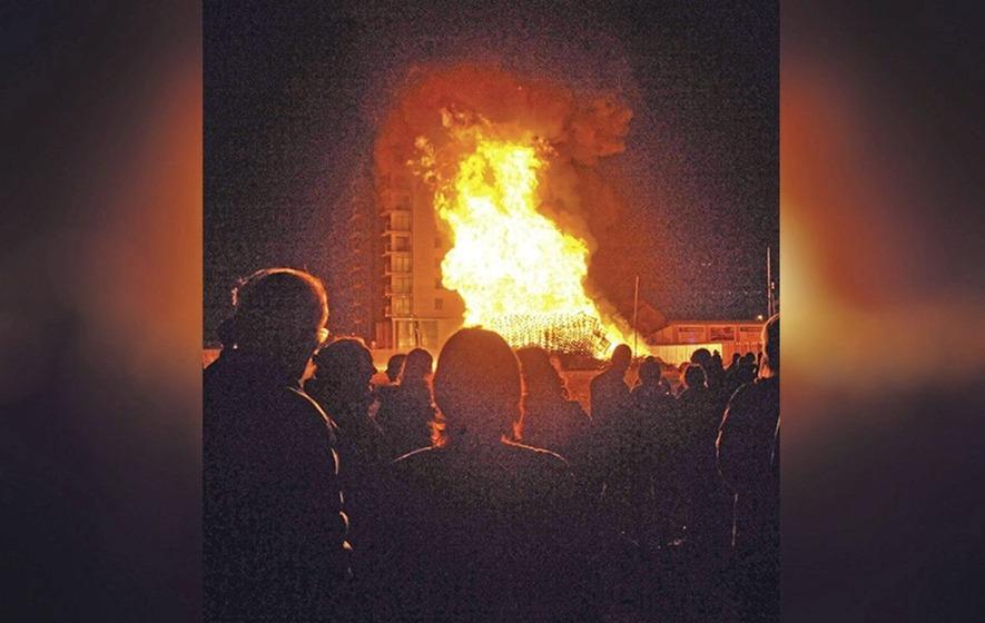 hot weather  u0026 39 increases risk of bonfires spreading u0026 39