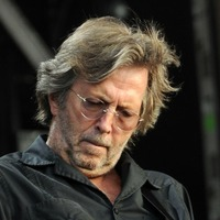 Eric Clapton toasts Three Lions at British Summer Time festival