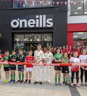 O'Neills opens its largest store in Derry