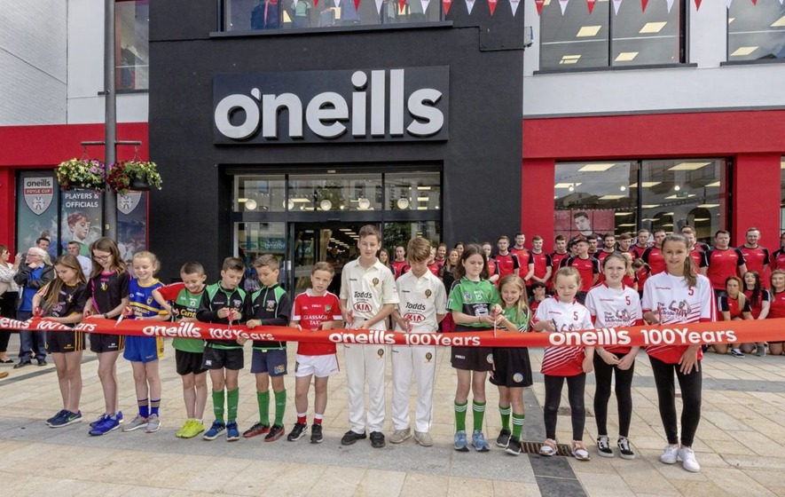 O Neills opens its largest store in Derry - The Irish News 70f19af4eb