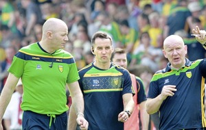 Declan Bonner: Donegal will never settle for second best