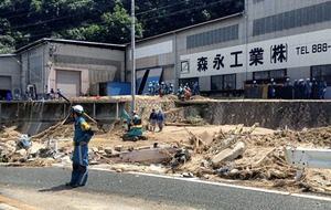 More than 150 people dead after heavy rainfall south-western Japan