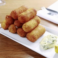 James Street South Cookery School: Potato and cod fish cakes, homemade croquettes