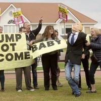 Protests kick off ahead of Trump visit