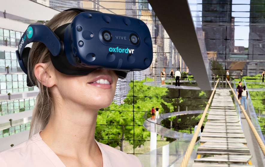 Scared of heights? Virtual reality therapy can help, says study