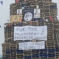 Bonfire insult to Ballymurphy victims