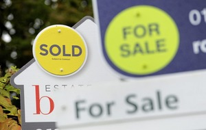 UK housing market falls in value by £27bn