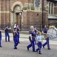 Loyalist flute band appears to breach Parades Commission determination on playing music outside St Patrick's Catholic Church
