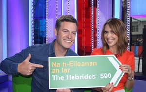 The One Show heads for the Hebrides