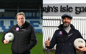 Harry Redknapp and Gianluca Vialli manage GAA arch-rivals