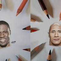 This guy draws exquisite miniature portraits of celebrities