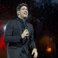 Michael Buble thanks fans for support during stage return following son's cancer
