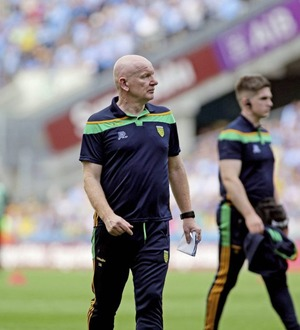 Donegal manager Declan Bonner has no complaints after loss to Dublin