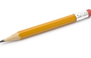 This tale of a comically large pencil and a teachable moment is hilarious