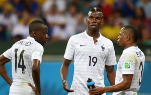 Patrice Evra posts video demanding respect for Pogba after his WC final goal