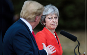 Theresa May: Donald Trump told me to sue EU over Brexit