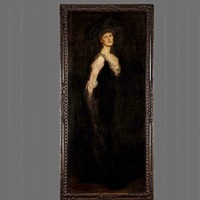 Countess Markievicz portrait presented to Westminster to mark centenary of women's vote